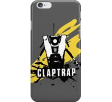 Claptrap (Grey) iPhone Case/Skin