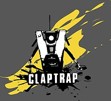 Claptrap (Colored BG) by WondraBox