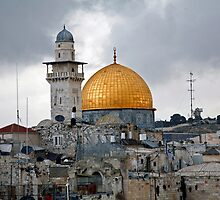 Dome of the Rock Jerusalem by Jason Moore