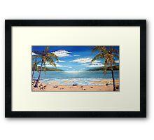 Long Island Paradise, Australia  Framed Print