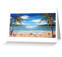 Long Island Paradise, Australia  Greeting Card