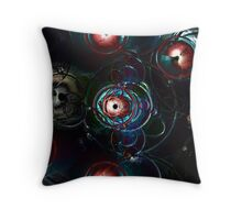 Lens Flare Three Throw Pillow