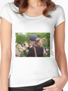 Chelsea Flower Show Women's Fitted Scoop T-Shirt