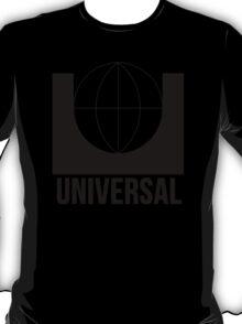 Universal Pictures 1960s print logo black T-Shirt