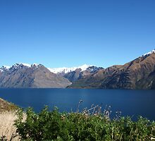 Lake Wakatipu I by Paul Duckett