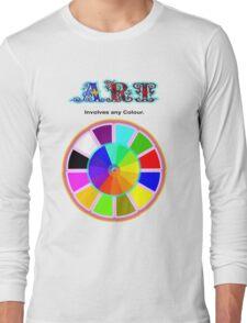 Art. Long Sleeve T-Shirt