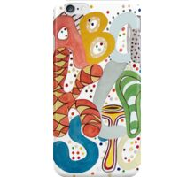 Party Alphabet iPhone Case/Skin