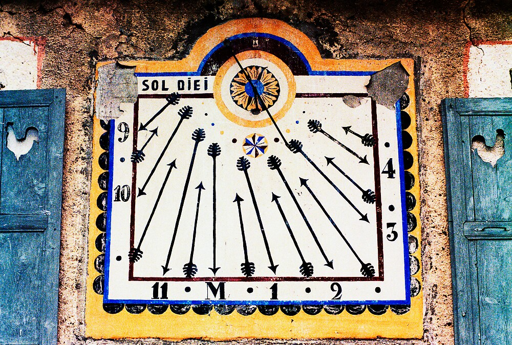 Sun Dial by Pascal and Isabella Inard