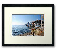 Little Venice-Mykonos Framed Print