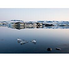 Glacier Lagoon August 2009 #4 Photographic Print