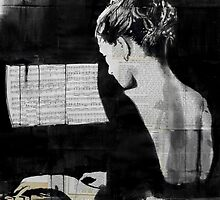 her new sonata by Loui  Jover