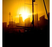 Harbour Sunset Photographic Print