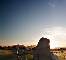 Castlerigg Stone Circle at Sunset by Nick Tsiatinis