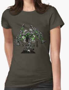 The Game of Kings, Wave Six: The Black Queen-Bishop's Pawn Womens Fitted T-Shirt