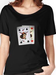 50s Queen of spades, home made poker deck! Women's Relaxed Fit T-Shirt