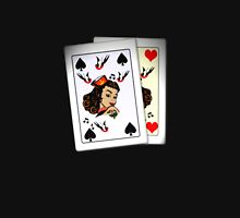 50s Queen of spades, home made poker deck! Unisex T-Shirt
