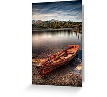 Little Boat on the Shore Greeting Card