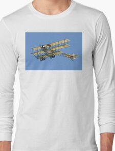 1911 Roe IV Triplane replica G-ARSG Long Sleeve T-Shirt