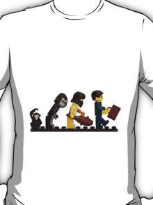 The Evolution of Bricks T-Shirt
