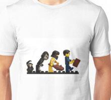 The Evolution of Bricks Unisex T-Shirt