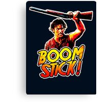 Boom Stick Ash Canvas Print