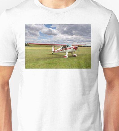 Luscombe Model 8F Silvaire G-BULO Unisex T-Shirt