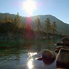 Sunrise on Lake Tahoe by tom j deters