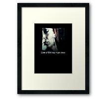 Zora Hard Copy Framed Print