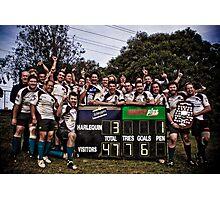 Geelong Rams RUFC ~ Grand Final Winners Photographic Print