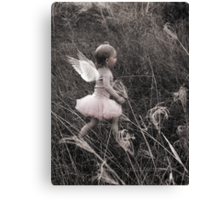 """""""Angel Ready For Flight"""" - A Tribute To Breast Cancer Awareness Canvas Print"""