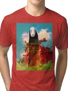 spirited away. no face Tri-blend T-Shirt