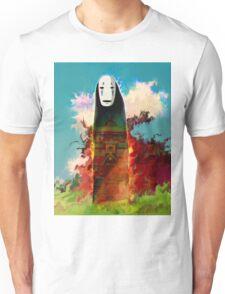 spirited away. no face Unisex T-Shirt