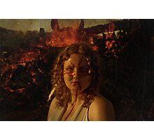 Fire Elemental  Photographic Print
