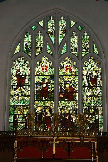 Window #1 St Peter's Church  by Trevor Kersley