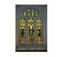 Window #2 St Peter's Church Art Print