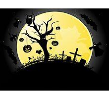 Halloween background Photographic Print