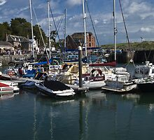 Padstow harbour by Steve plowman