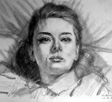 Audrey Hepburn by Hidemi Tada