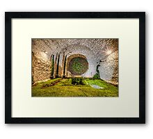 The Cathedral Basement (Girona, Catalonia) Framed Print