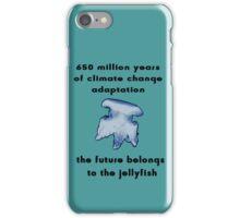 Climate Change Adaptation Jellyfish iPhone Case/Skin