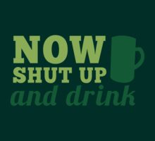 Now SHUT up and DRINK with pint by jazzydevil