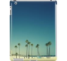 Summer Beach Blue iPad Case/Skin