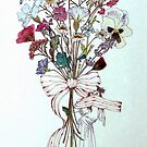 Bouquet of Flowers and Child by Jann Ashworth