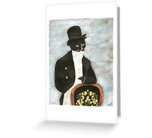Mr. Darcy Dominic Greeting Card