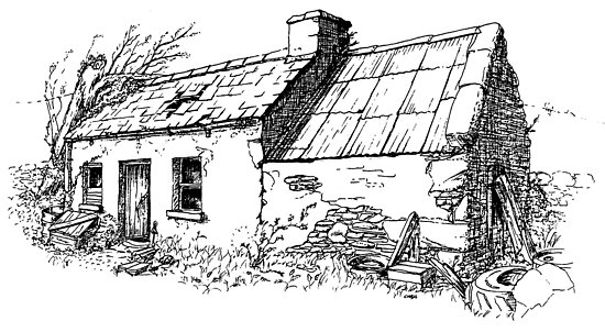 The old cottage, Kerry, Eire by hyde66art
