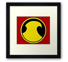 Red Robin's Symbol Framed Print