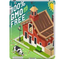 Isometric GMO Free Farming iPad Case/Skin