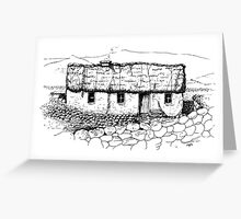 Old homestead, Connemara, Eire Greeting Card