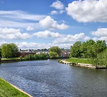 Meandering River Exe by Susie Peek