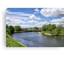 Meandering River Exe Canvas Print